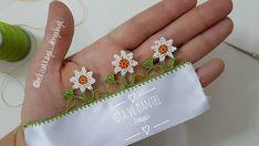 Yapım aşaması videosu YouTube kanalımız oya ve dantel dünyasında.. #oyavedanteldünyasi… Diy And Crafts, Diamond Earrings, Crochet, Floral, Flowers, Instagram, Jewelry, Youtube, Create