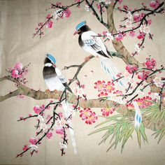 Chinese Bird Art | Forms of Chinese painting and Chinese painting frames