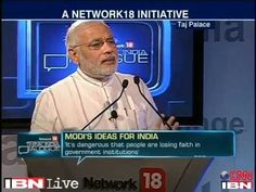 Narendra Modi pitches for more governance and less government