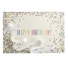 Happy Birthday Party Paper Placemats