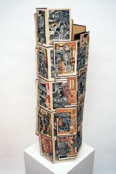 Recycled Book Carving