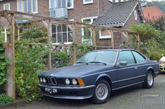 BMW in woonwijk