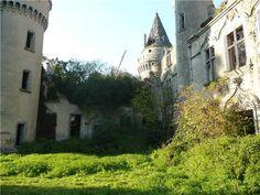 ruines du château de Bagnac à Saint Bonnet de Bellac, Limousin