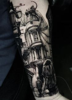 Superb Harry Potter Tattoo Made by Thomas Carli jarlier Tattoo Artists in Moscow, Russia Region Harry Tattoos, Sexy Tattoos, Body Art Tattoos, Small Tattoos, Cool Tattoos, Harry Potter Tattoos Sleeve, Flower Tattoos, Harry Potter Dragon, Harry Potter Art