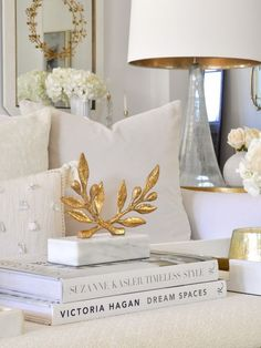 The look pays attention to details! #homeaccessories #interiordesign #designideas #modernaccessories #decor #homedecor #interiordesigninspiration #accessoriesideas Gold Bedroom Decor, Gold Home Decor, Cheap Home Decor, Living Room Decor, Living Rooms, Crate And Barrel, Gold Home Accessories, Accessories Online, Bedroom Accessories