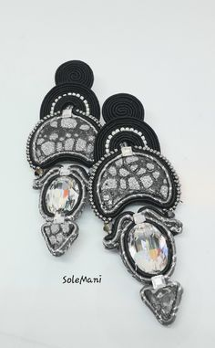 Soutache Earrings, Accessories, Ornament