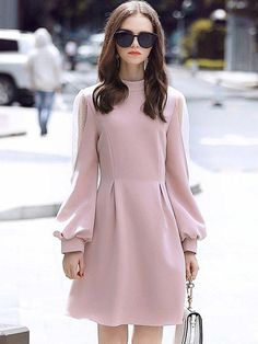 Small special event long dresses, minimal sexyhomecoming long dresses, and semi-formal stylish clothes. Muslim Fashion, Modest Fashion, Hijab Fashion, Fashion Dresses, Modest Dresses, Modest Outfits, Simple Dresses, Midi Dresses, Sheath Dresses