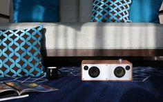 GGMM®M3 Enceinte Bluetooth WiFi- AirPlay Speaker Support DLNA, Spotify, Pandora,et Multi-Room - Hi-Fi système de Musique Stéréo pour Téléphone, Tablette et PC  https://www.amazon.fr/dp/B01A0NQ59G