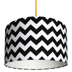 Are you interested in our black striped handmade lampshade? With our monochrome drum lampshades you need look no further.