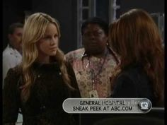 GH - Lulu Confronts Elizabeth In Front Of The Entire Hospital - 1.26.10