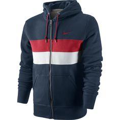 Nike Squad Flc Color Block Fz Hoody #nike #urbanjungle £56