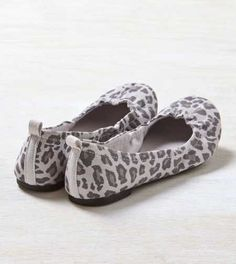 AEO Leopard Print Ballet Flat - Free Shipping