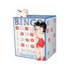 Betty Boop Bingo Fund Bank Home