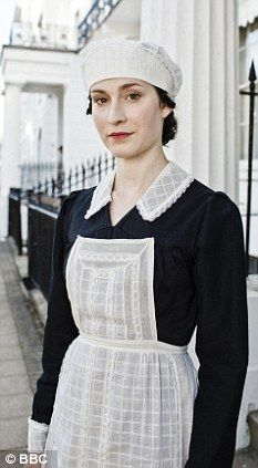 Upstairs Downstairs TV series parlourmaid. I miss her she was my favorite