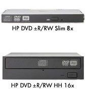 The next generation of optical drive HP DVD±R/RW drive is for HP ProLiant servers. It will be capable of reading DVD 4.7 GB through 8.5 GB media; this drive supports writing to CD-R, CD-RW, DVD±R/RW, and DVD-R/RW media.  http://itoptions.com/hp-8x-slim-dvd-rw-drive.html#.VKzrxaMhOuo