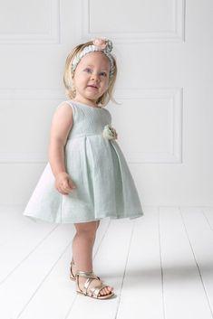 Picture of AMY ΠΡΑΣΙΝΟ βαπτιστικό φόρεμα κορίτσι