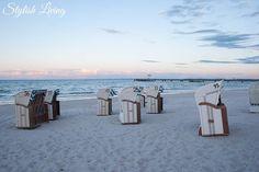 Strand Scharbeutz Abenddämmerung