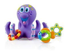 Nuby Octopus Bath Time Toss - http://babyentry.com/baby/gifts/nuby-octopus-bath-time-toss-com/