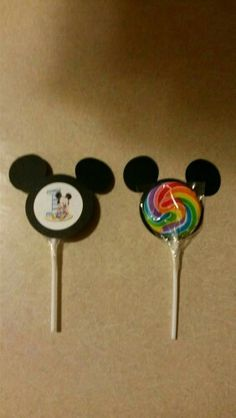 Paleta Mickey More