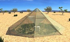 Roots Up's Dew Collector greenhouse provides veggies and water in Ethiopia | Inhabitat - Sustainable Design Innovation, Eco Architecture, Green Building