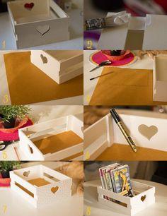 Plus de 1000 id es propos de recycler cagetttes caisses en bois palettes - Customiser une cagette ...