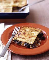 Caramelized Onion and Mushroom Lasagna