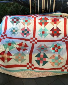 Churndash Summer by Lovedquilts on Etsy