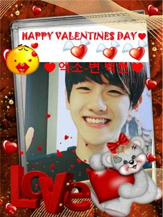 it's too late for valentines but i just want to pin it...♥baekhyun♥