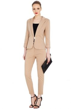 Elegantné dámske biznis sako Suit Jacket, Breast, Suits, Jackets, Fashion, Down Jackets, Moda, Fashion Styles, Suit
