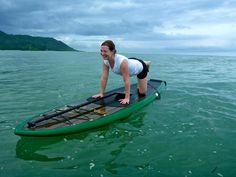 Try yoga on a SUP in the beautiful ocean waters of Costa Rica! http://vajrasoltravel.com/costa_rica_stand_up_paddle_yoga_retreat.shtml