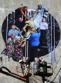 Renaissance Street Art by Yola