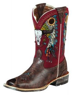 Womens Ariat Rodeobaby Roundup Boots (via @Allens Boots)