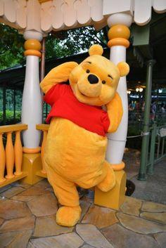 Winnie the Pooh! Disney Dream, Disney Fun, Disney Magic, Disney Parks, Walt Disney, Disneyland Halloween, Disneyland Paris, Winnie The Pooh Quotes, Disney Winnie The Pooh