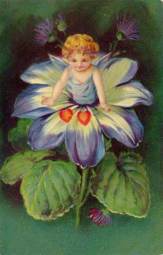 Sweet vintage fairy