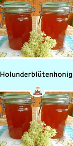 Elderflower honey - A homemade honey made from elderflower. Like classic honey, it is suitable e. for sweetening tea. Apple Cider Vinegar Diet, Healthy Food List, Healthy Foods, Easy Food To Make, Medicinal Herbs, Food Inspiration, Lose Weight Naturally, Vegan Recipes, Brunch