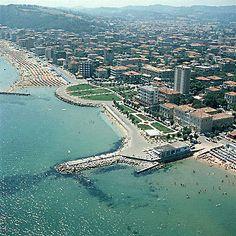 Spiaggia, Pesaro, Marche