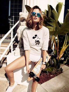 cute mickey mouse T shirt