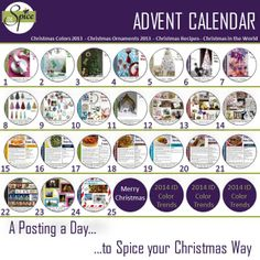 Follow our Advent Calendar everyday for a new Post.