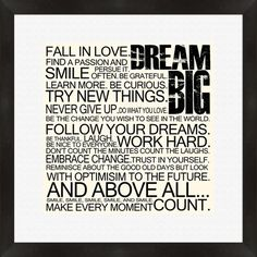 I pinned this Dream Big Framed Wall Art from the Finishing Touch event at Joss and Main!