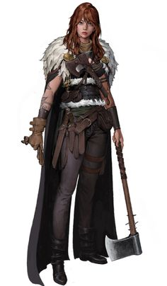 Fantasy Warrior, Fantasy Rpg, Medieval Fantasy, Dark Fantasy, Woman Warrior, Fantasy Character Design, Character Design Inspiration, Character Concept, Character Art