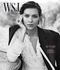 Lachlan Bailey photographs Kati Nescher for WSJ magazine, April 2014