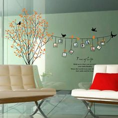 Photo Tree Wall Decal Vinyl Family Tree Wall Decal by Lovecase, $68.00