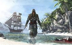 Assasin's Creed 4 - Black Flag  http://www.ristizona.com/2013/04/inilah-gameplay-assasins-creed-4-black.html