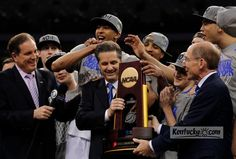 Kentucky wins 8th National Championship! Go #BBN