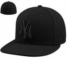 84ef7408671 New York Yankees New Era Black Tonal 59FIFTY Fitted Hat  32.95  24.69 Save   25%