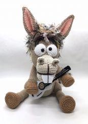 Pablo, der Rocker-Esel,