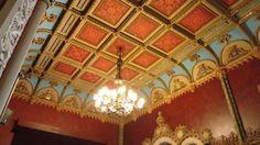 Teto Sala Teatro Gabinete Real!