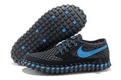 Cheap 2013 Nike ACG Lava Dome CI Mens Shoes Black Royalblue