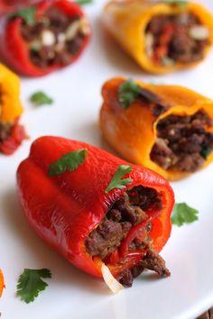 Chorizo Poppers  #PrimalPalate