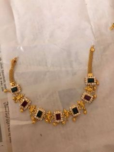 Check Out These Wonderful Ideas To Improve Your Fashion – Designer Fashion Tips Gold Jewellery Design, Gold Jewelry, Jewelery, Gold Necklace, Indian Wedding Jewelry, Bridal Jewelry, India Jewelry, Jewelry Patterns, Gold Bangles